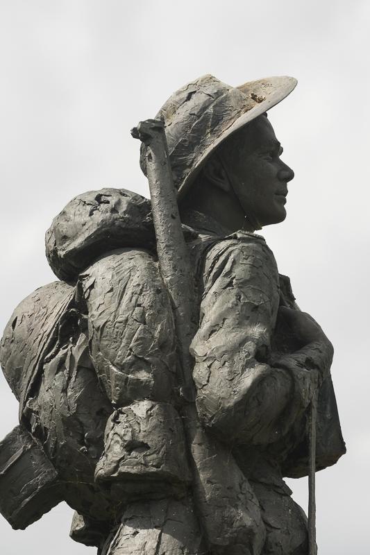 AUSTRALIAN MEMORIAL AT BULLECOURT